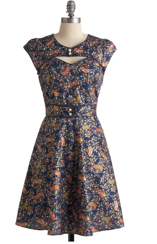 Cyber Monday Sale Modcloth, Modcloth Sweetheart cut out neckline dress, modcloth 60s dress