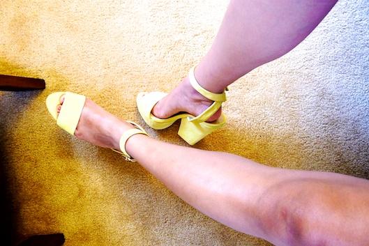 Body Chain, Zara Yellow Shoes, Hawaii Street Style,