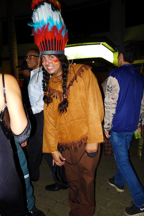 thereafterish, Aloha Tower Halloween Party, Indian Costume