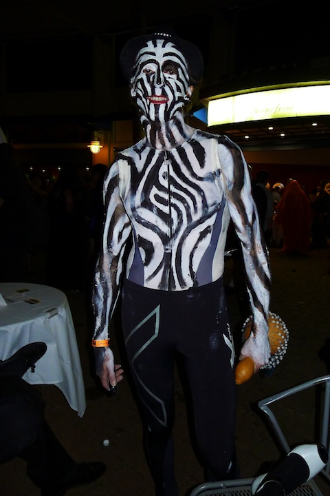 thereafterish, Aloha Tower Halloween Party, Animal Man