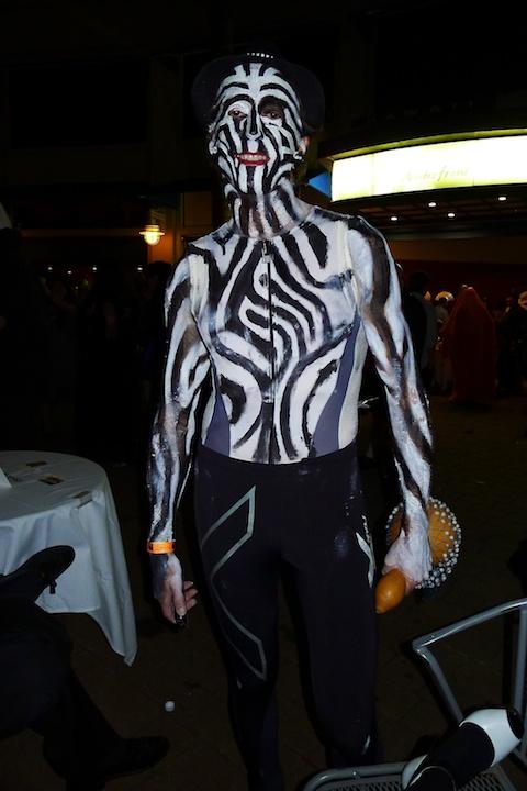 thereafterish, Aloha Tower Halloween Party, Animal Man