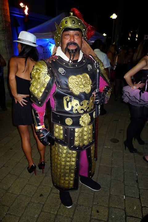 thereafterish, Aloha Tower Halloween Party, Samurai Costume