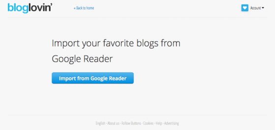 how to save your how to save your rss feeds, how to import your google reader rss, feedly, bloglovin, google reader