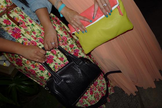 thereafterish, elisharon, ootd, color block, floral maxi skirt, maui travel, mytravelgram