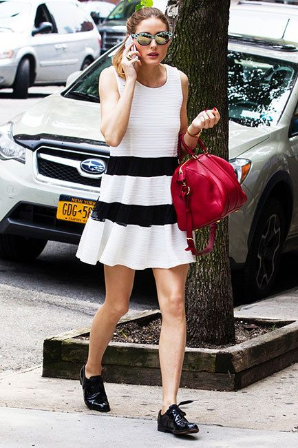 thereafterish, fashion inspo, summer fashion, easy looks for summer, cool looks for summer, olivia palermo, olivia palermo shift dress