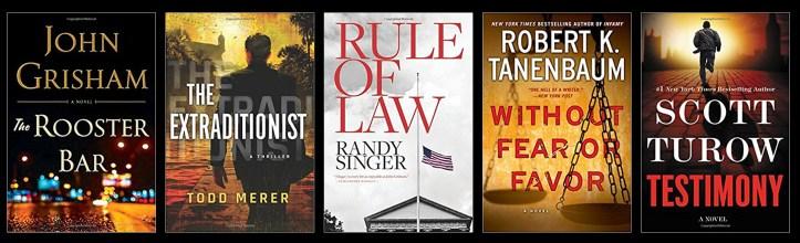 Book Spy Best Legal Thrillers 2017