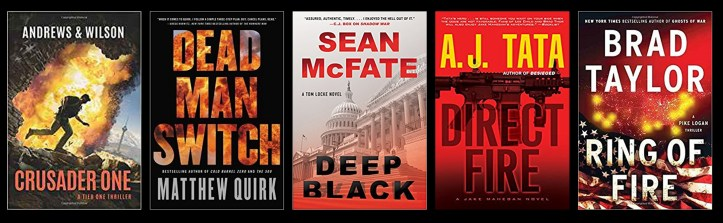 Book Spy Best Military Thrillers 2017
