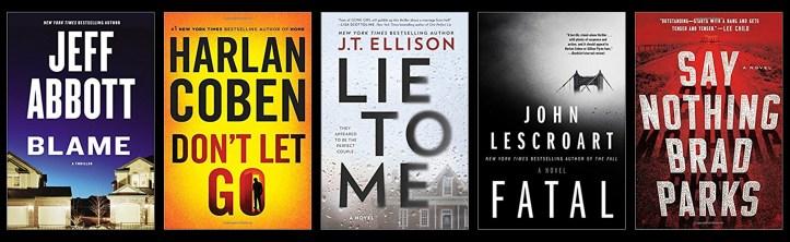 Book Spy Best Suspense Thrillers 2017