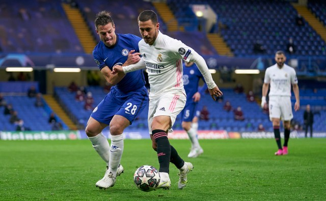 How did Real Madrid feel about Eden Hazard's post-game antics?