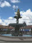 Plaza de Armas fountain