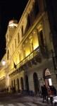 Piazza dei Signori at night