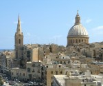 Valletta from the bastions