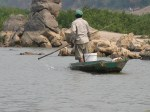 Fisherman on the Mekong