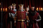 King John and entourage