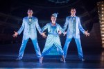 Sheridan Smith and the boys of the ensemble