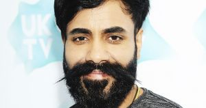 Paul Chowdhry with a big beard