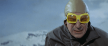 Blofeld in the snow