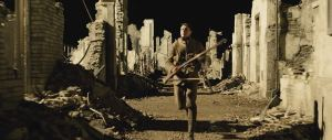 Schofield in the ruins