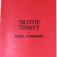 Review – Blithe Spirit, Gielgud Theatre, 19th April 2014