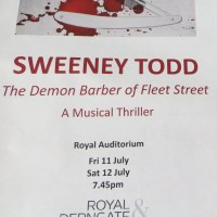 Review – Sweeney Todd, R&D Youth Theatre, Royal and Derngate, Northampton, 11th July 2014