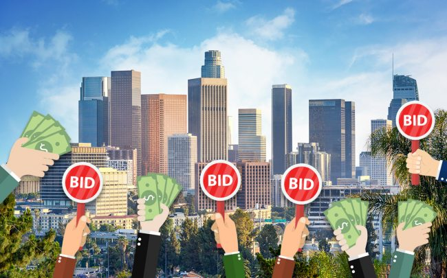 Homes selling above asking price in LA dropped 6 percent in 2019