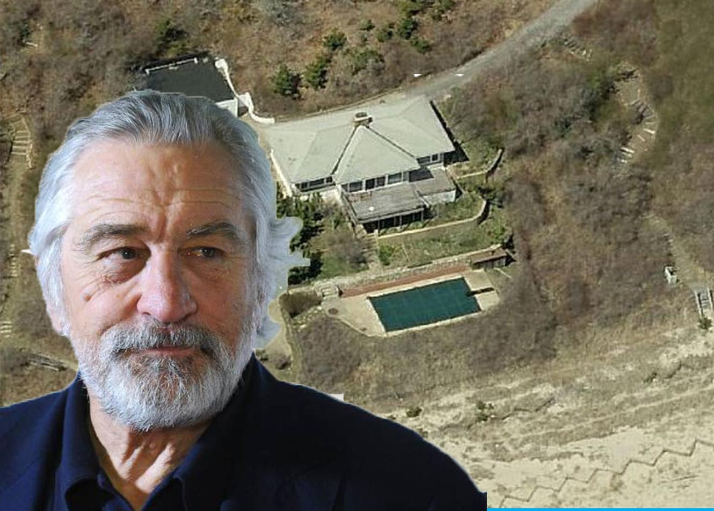 Hamptons Real Estate Robert DeNiro Montauk Home