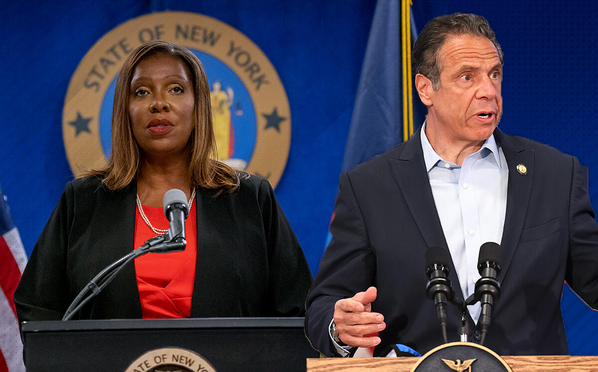 1 day ago · new york attorney general letitia james's office released the results of an extensive investigation into allegations of sexual harassment against gov. Letitia James' Report Finds Cuomo Sexually Harassed Staffers