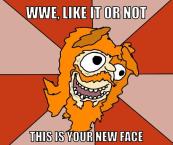 WWE - BYRANS FACE