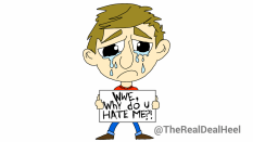 WWE - HATES ME