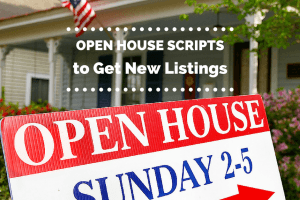 Open House Scripts Real Estate