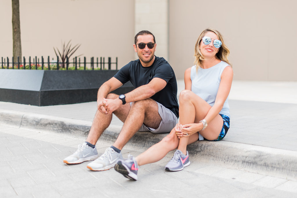 His And Hers Work Out Wear For Easy Packing And Casual Style