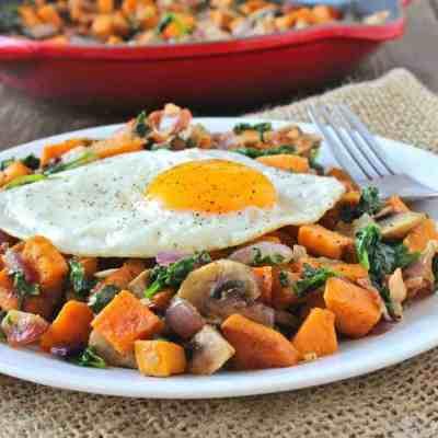 Sweet Potato Hash with Bacon