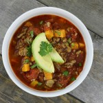 Chipotle Turkey and Sweet Potato Chili