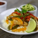 One-Dish Chicken Fajita Bake