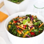 Thai Kale Salad with Ginger-Lemongrass Vinaigrette {Video}