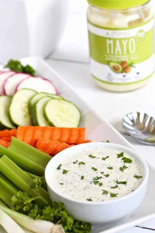 Paleo Ranch Dressing & Dip