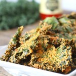 'Cheese' Pizza Kale Chips