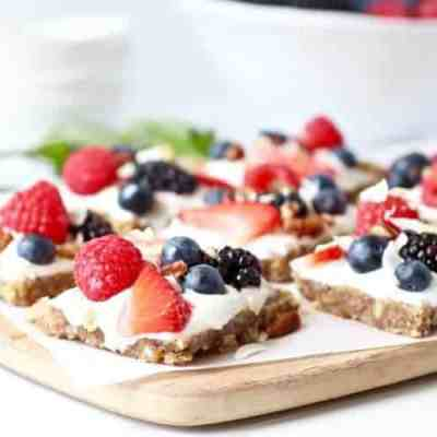Gluten-free Berry Fruit Pizza