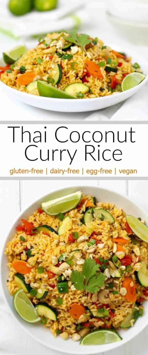 A Taste Of Thai Coconut Milk thai coconut curry rice - the real food dietitians