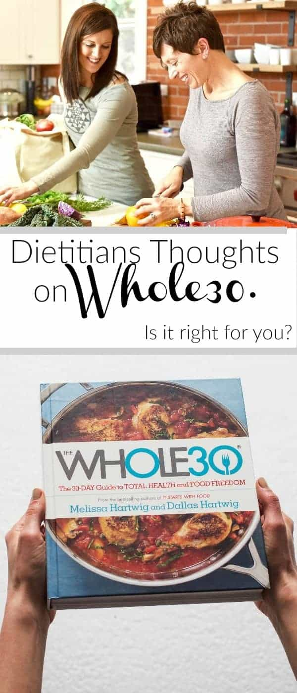 Dietitians Thoughts on Whole30