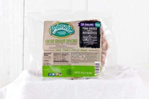 Pederson's Natural Farms Italian Sausage