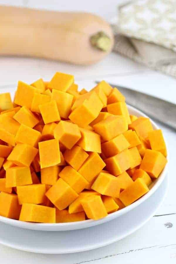 how to easily cut butternut squash