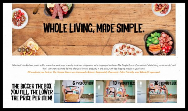 The Simple Grocer: Whole Living Made Simple