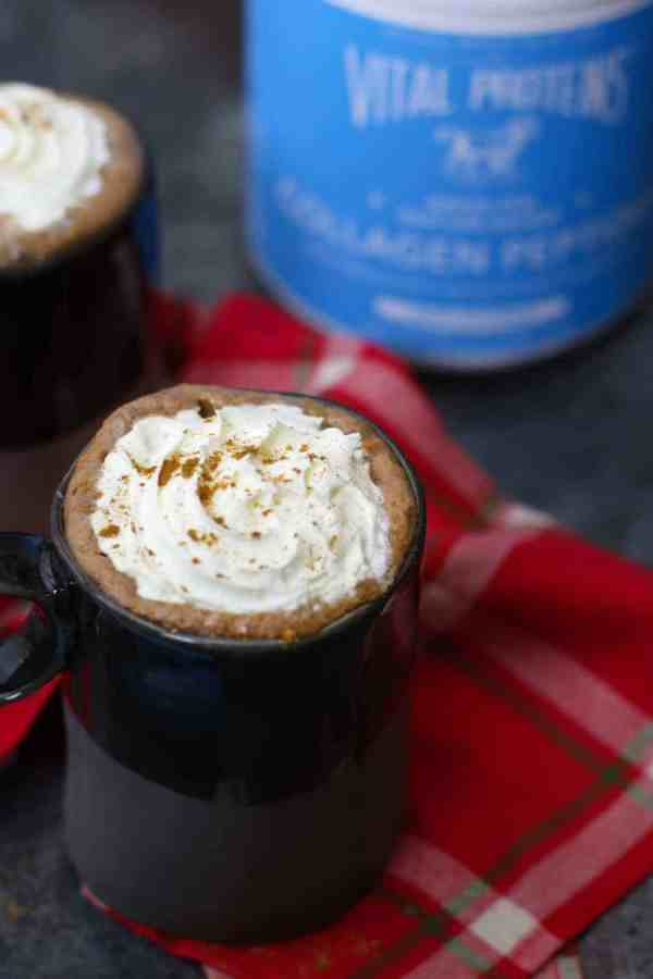 Dairy-free Gingerbread Hot Cocoa | The Real Food Dietitians | http://therealfoodrds.com/dairy-free-gingerbread-hot-cocoa/