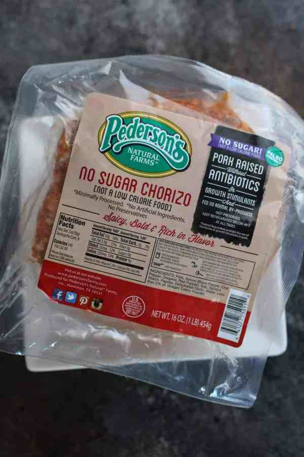Pederson's Natural Farms No Sugar Chorizo