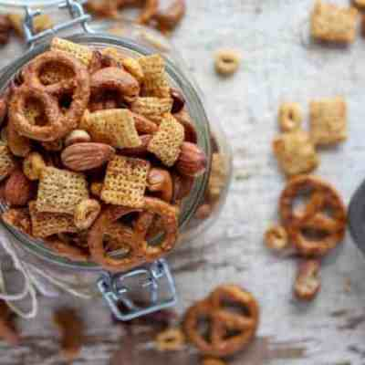 Gluten-free Buffalo Ranch Snack Mix
