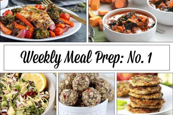 Weekly Meal Prep Menu: No.1   The Real Food Dietitians   https://therealfoodrds.com/weekly-meal-prep-menu-no-1/