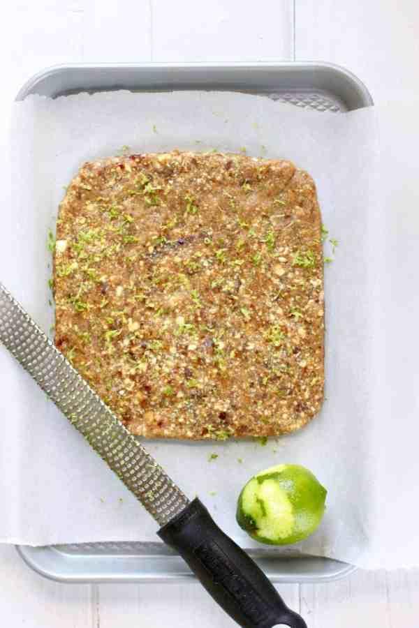 Key Lime Pie Energy Bars | The Real Food Dietitians | https://therealfoodrds.com/key-lime-pie-energy-bars/