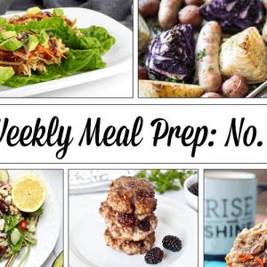 Weekly Meal Prep Menu: No. 5