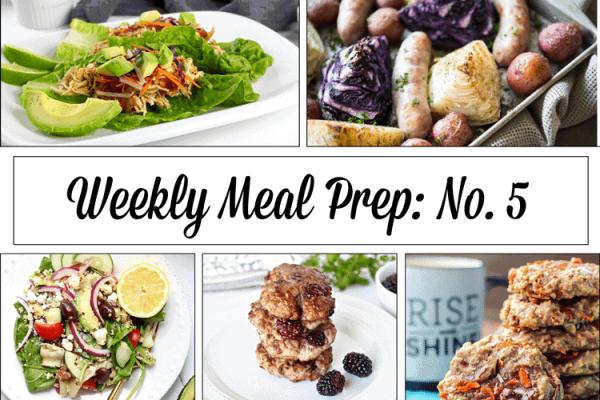 Weekly Meal Prep Menu: No. 5 | The Real Food Dietitians | https://therealfoodrds.com/weekly-meal-prep-menu-no-5/